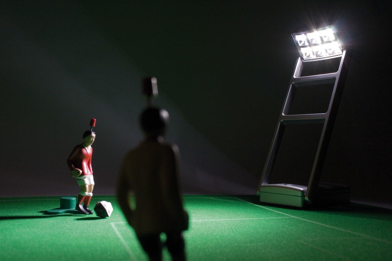 TIPP-KICK 011133 - Focos para Juego de fútbol: Amazon.es: Juguetes y juegos