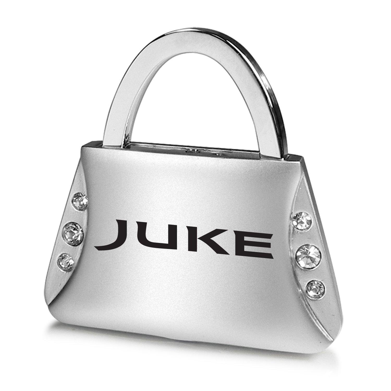 Nissan Juke Porte-clés en forme de sac à main avec cristaux transparents