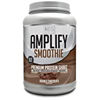 NDS Nutrition Amplify Smoothie Premium Whey Protein Powder Shake with Added Greens...