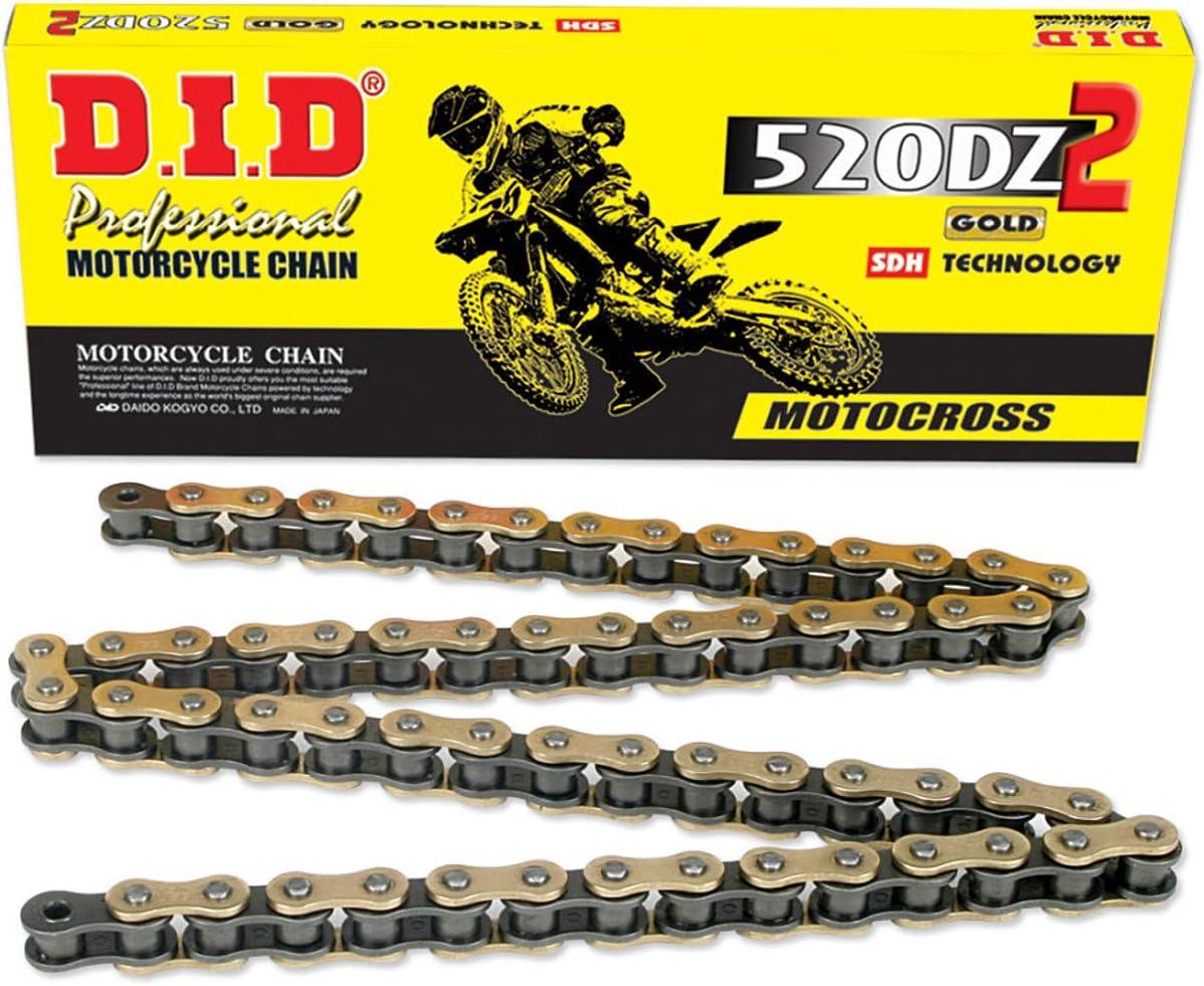 520 X 120 Heavy Duty Motorcycle ATV Drive Chain MX Off Road Dual Sport 120 Links