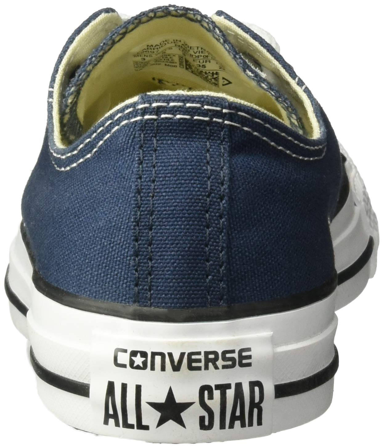 Converse Unisex Chuck Taylor All Star Low Top Navy Sneakers - 12MN-14WO B(M) US by Converse (Image #2)