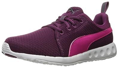 puma womens running shoes. puma women\u0027s carson mesh wn\u0027s running shoe, magenta purple/pink, puma womens shoes a