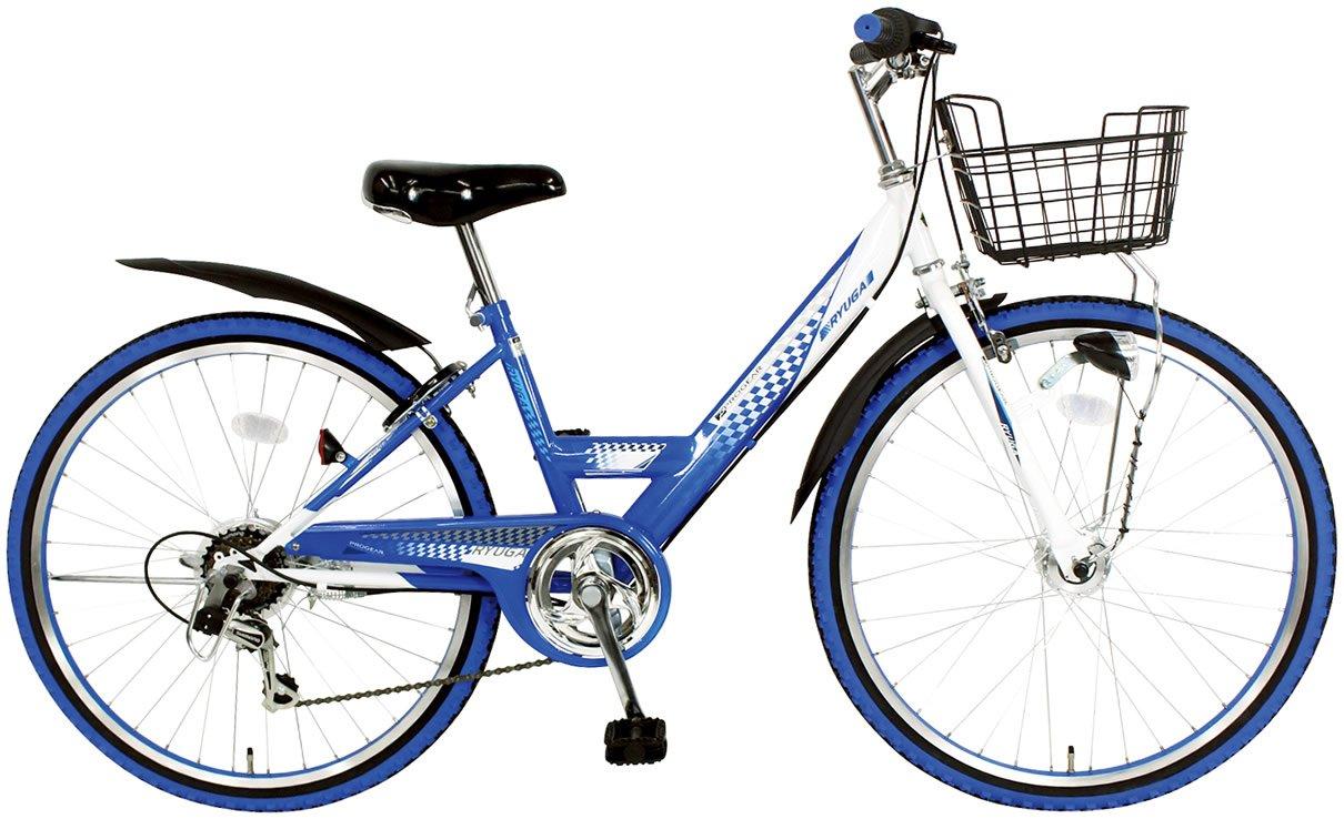 C.Dream(シードリーム) リューガ オートライト RG26-H 22インチ 子供自転車 ブルー 100%組立済み発送   B071FT2DPK