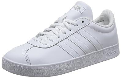 adidas VL Court 2.0 W, Chaussures de Fitness Femme, Gris (Gritre/Gritre/Purhie 000), 40 2/3 EU