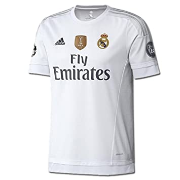 dc6eaf5eeefaf Adidas Real Madrid UEFA Champions League Camiseta 1ra Adulta 2015-2016  (2XL)  Amazon.es  Deportes y aire libre
