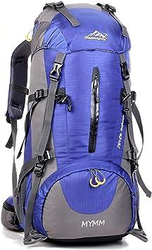 MYMM Mochila de 50/80L, Ideal para Deportes al Aire Libre, Senderismo, Trekking, Camping Travel, Escalada. Bolso Impermeable del Alpinismo, Daypacks ...