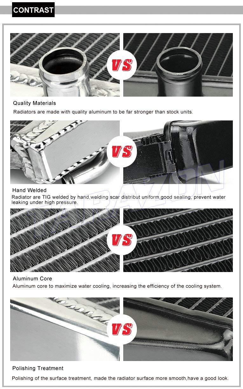 TARAZON MX Radiators for Yamaha WR450F 2012 2013 2014 2015 Aluminum Core Engine Water Cooling Off-Road
