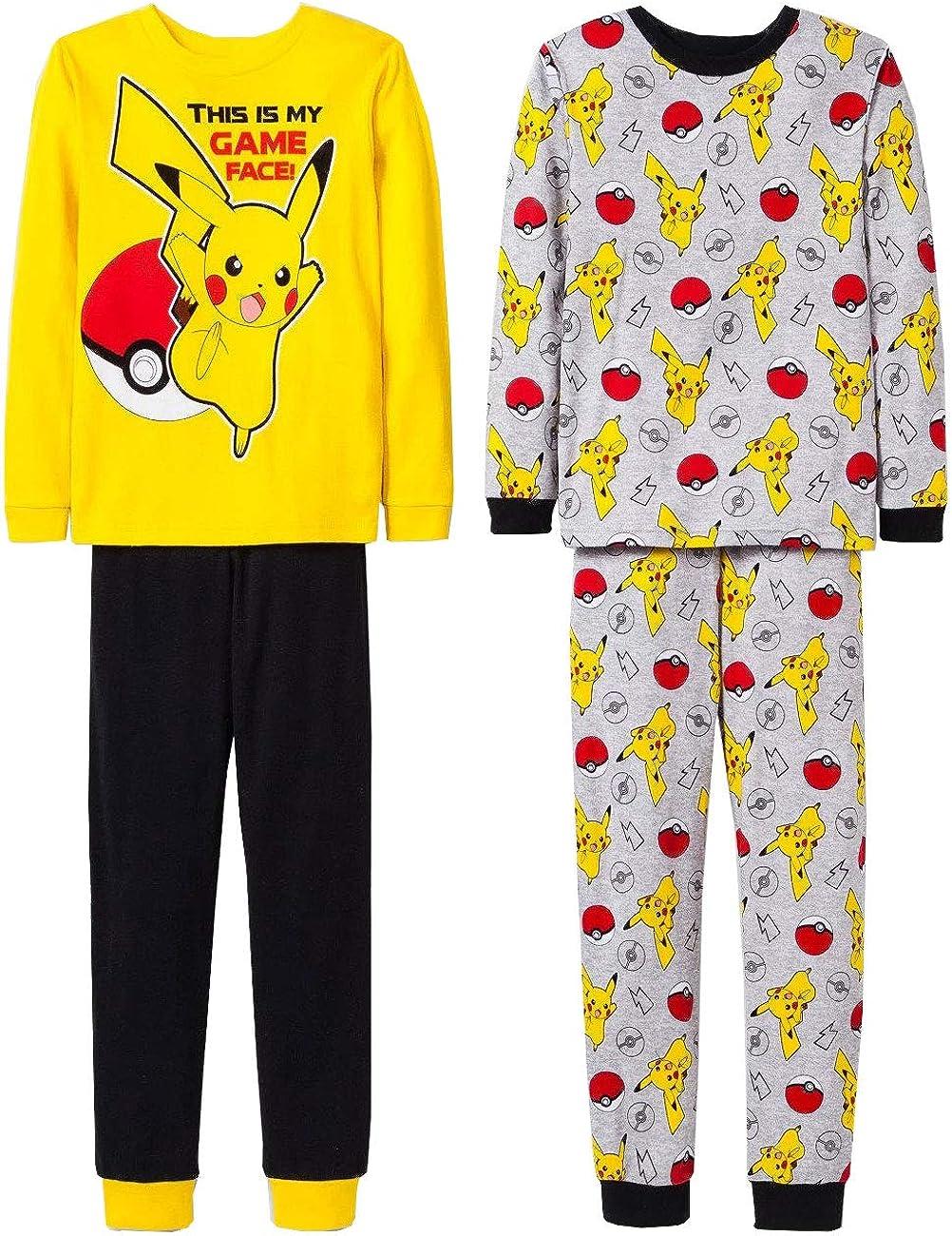 Pokèmon Pikachu hero poke pijama conjunto para niños 4 pieza 6 Multicolor: Amazon.es: Ropa y accesorios