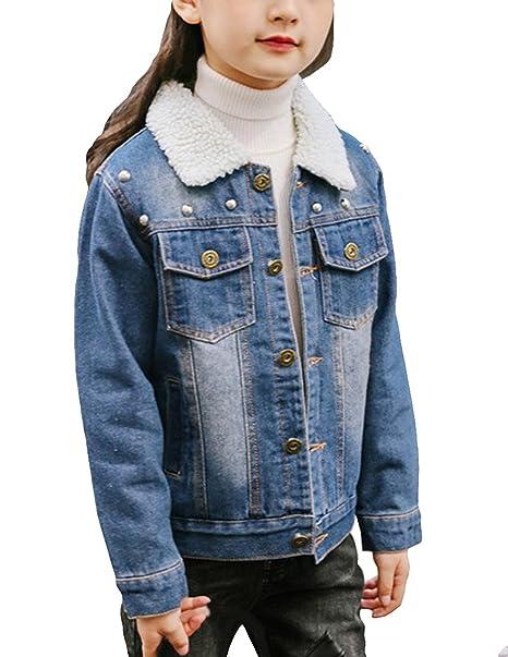 Amazoncom Ziyoyor Kids Girls Cotton Fleece Lined Washed