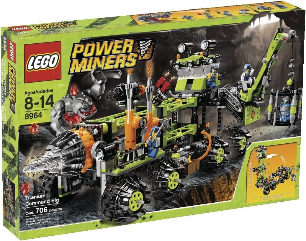LEGO Power Miners Titanium Command Rig (8964)