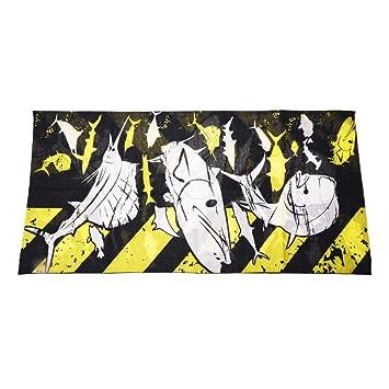 Bufanda De Cabeza Como Mascara Con Dibujo De Craneo Negro Para Ciclismo montar R SODIAL