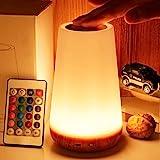 مصباح ليلي يعمل بالتحكم عن بعد/باللمس مصباح طاولة من تايبو، يوضع بجانب السرير بـ5 مستويات، مصباح مكتب ليد للاطفال مع…