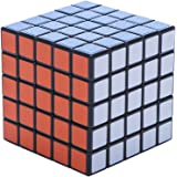 Rubik's Cube 5x5x5 Match Level of Difficulty Speed and Smooth Turning Puzzle Cube Black