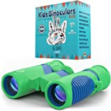 Binoculars for Kids 8x21 by Anzazo - Shock Proof Compact Binoculars Toy for Boys and Girls With High-resolution Real Optics - Best for Bird Watching, Hunting, Travel, Safari, Adventure, Outdoor Fun