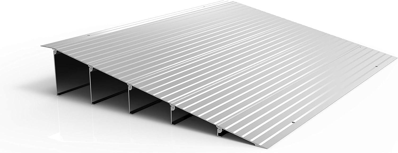 EZ-ACCESS TRANSITIONS Modular Aluminum Entry Ramp, 5