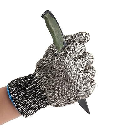 mufly acero inoxidable guantes de trabajo resistente al ...