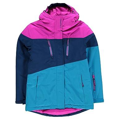 476ad1c2b Campri Kids Girls Ski Jacket Junior Coat Top Hooded Zip Full Warm ...