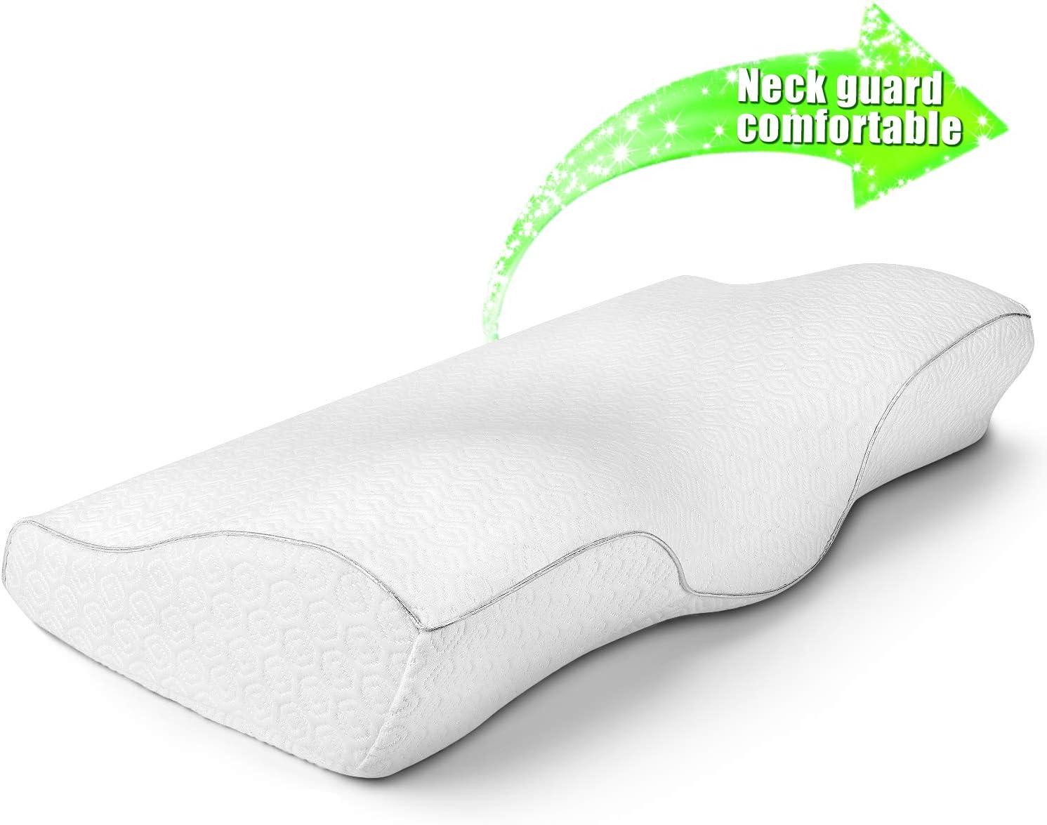 Amazon Com Cervical Memory Foam Neck Pillow Sleeping Contour