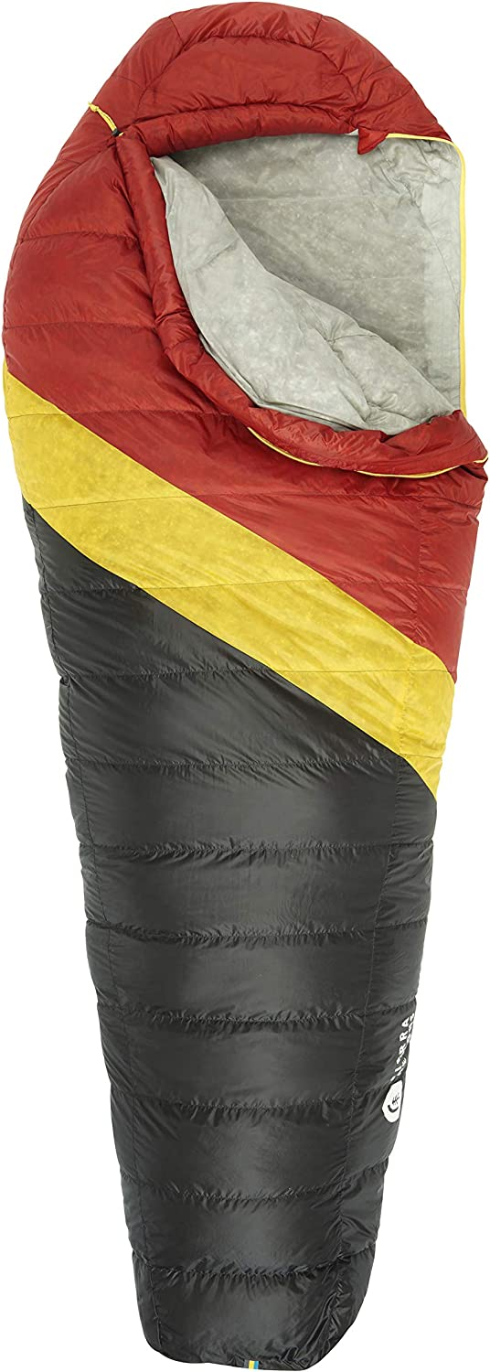 Sierra Designs Nitro 20 Degree DriDown Sleeping Bag Ultralight Down Sleeping Bag for Backpacking and Camping