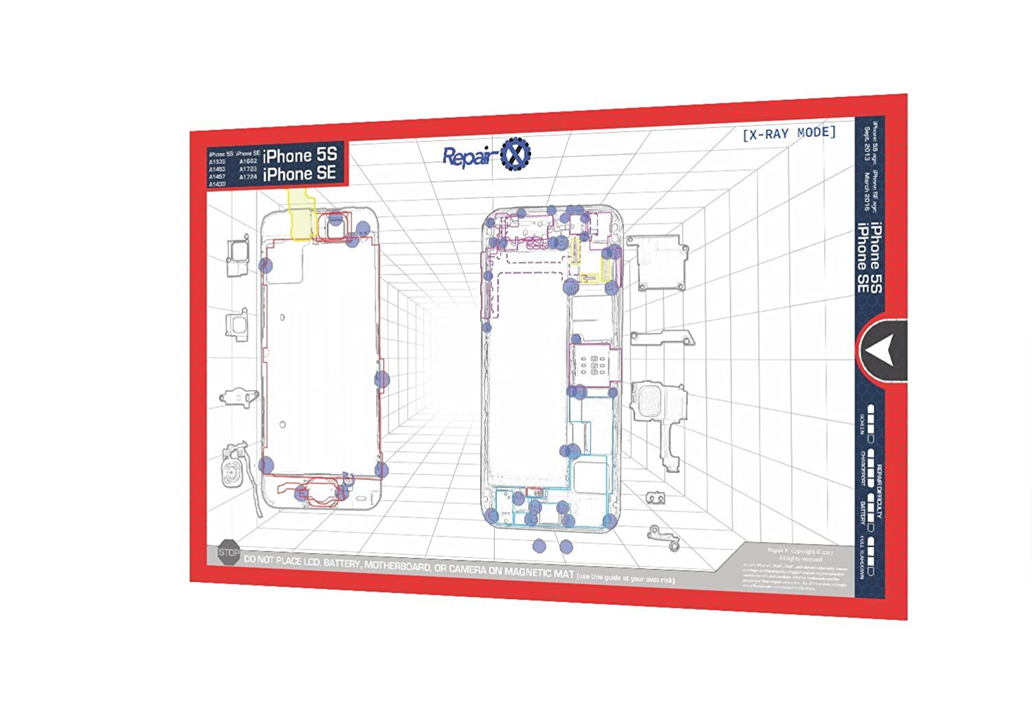 Camera Iphone 5 Schematic Electrical Wiring Diagrams Circuit Diagram Pictures Amazon Com Repair X Apple 5s Se Card Internal