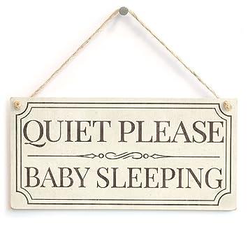 Silencioso por favor saco de dormir - aspecto Vintage ...