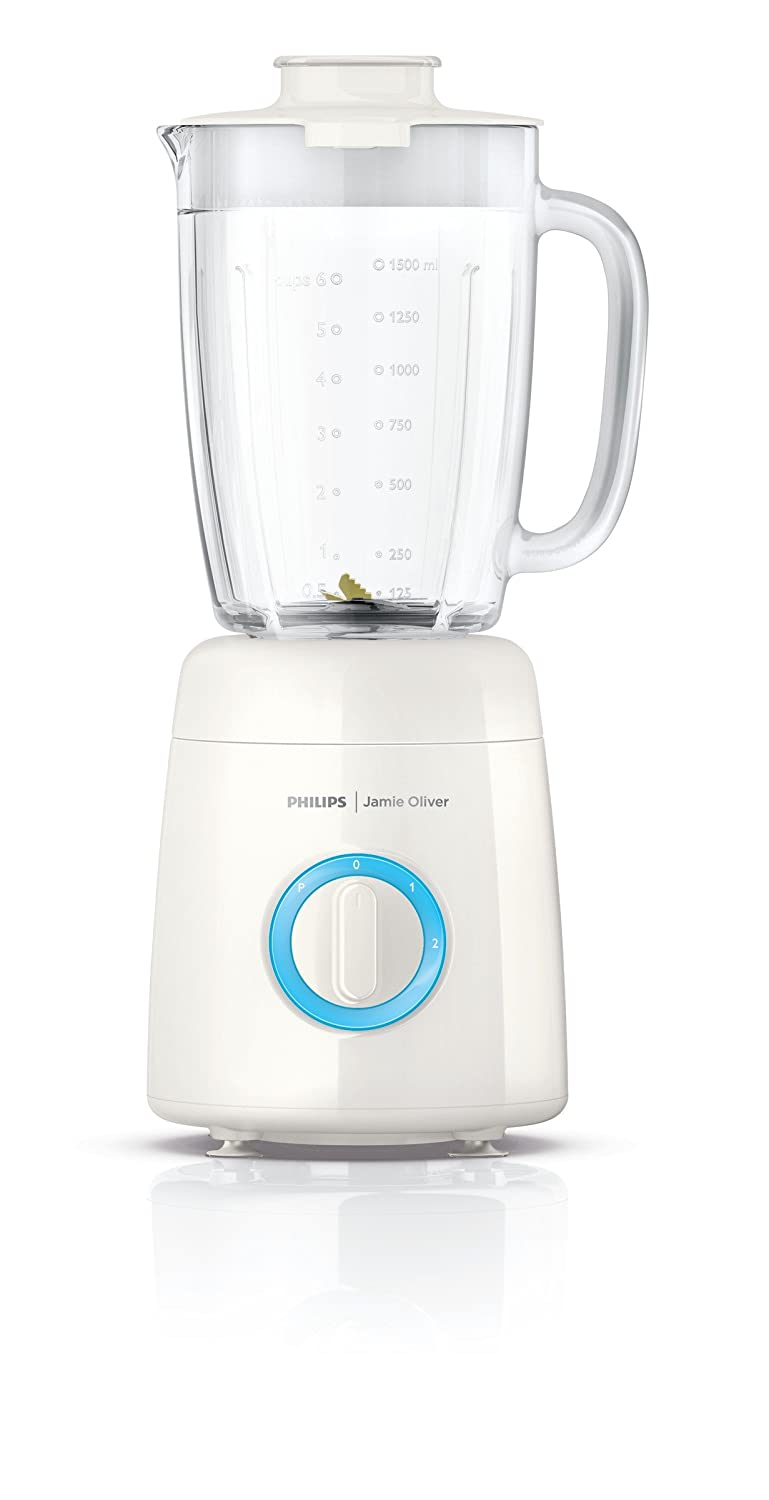 Amazon.com: Philips Jamie Oliver HR2172/00 600 W 2L Jarra de ...