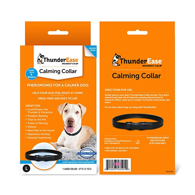 Amazon Thunderease Calming Anti Anxiety Pheromone Collar For