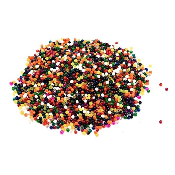 b3801d390 Lurryly Pearl - Bolas de gel con perlas de agua para flores y jaleas, diseño