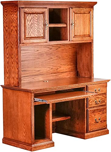 Forest Designs Desk Hutch Desk 56w x 72h Golden Oak - the best home office desk for the money