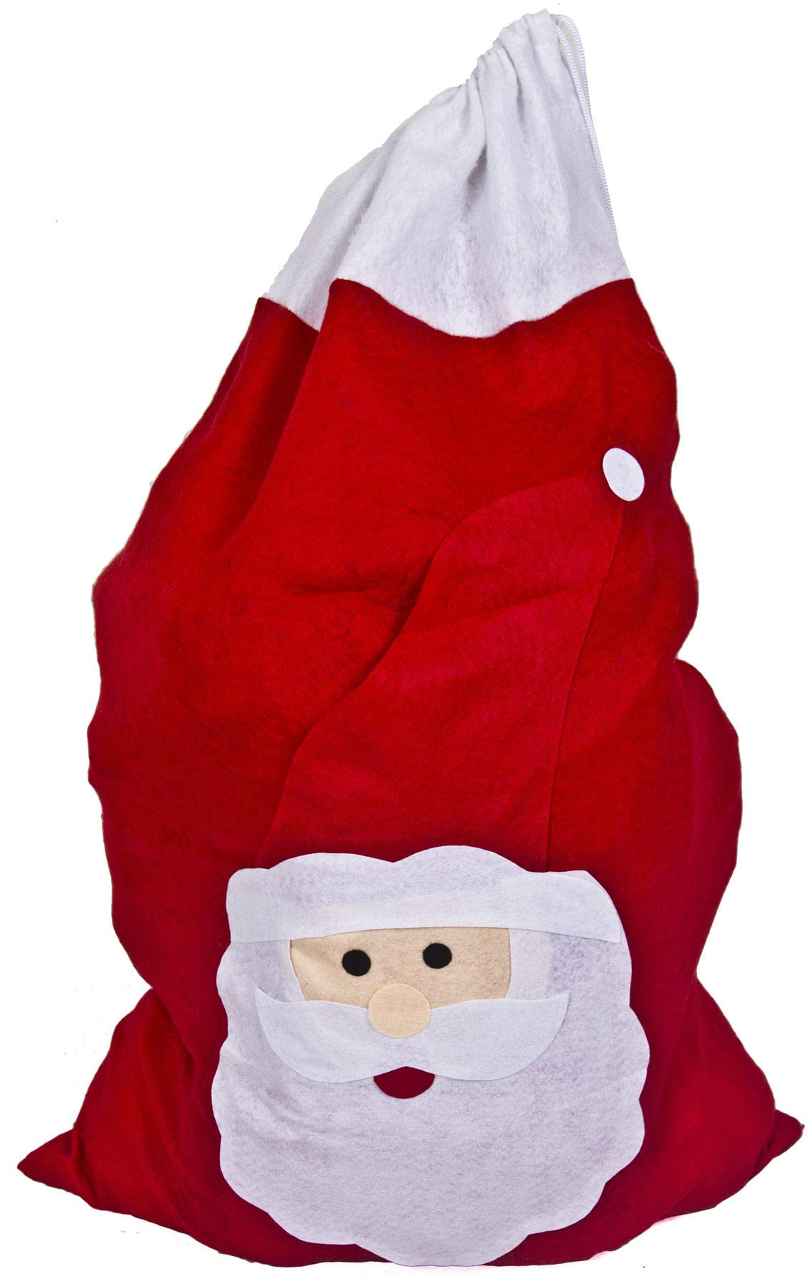 Giant Big Fluffy Deluxe Fancy Dress Red /& White Adult Tall Christmas Hat