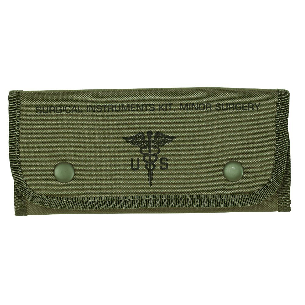 VooDoo Tactical Men's Empty Surgical Kit Pouch, Olive Drab by VooDoo Tactical