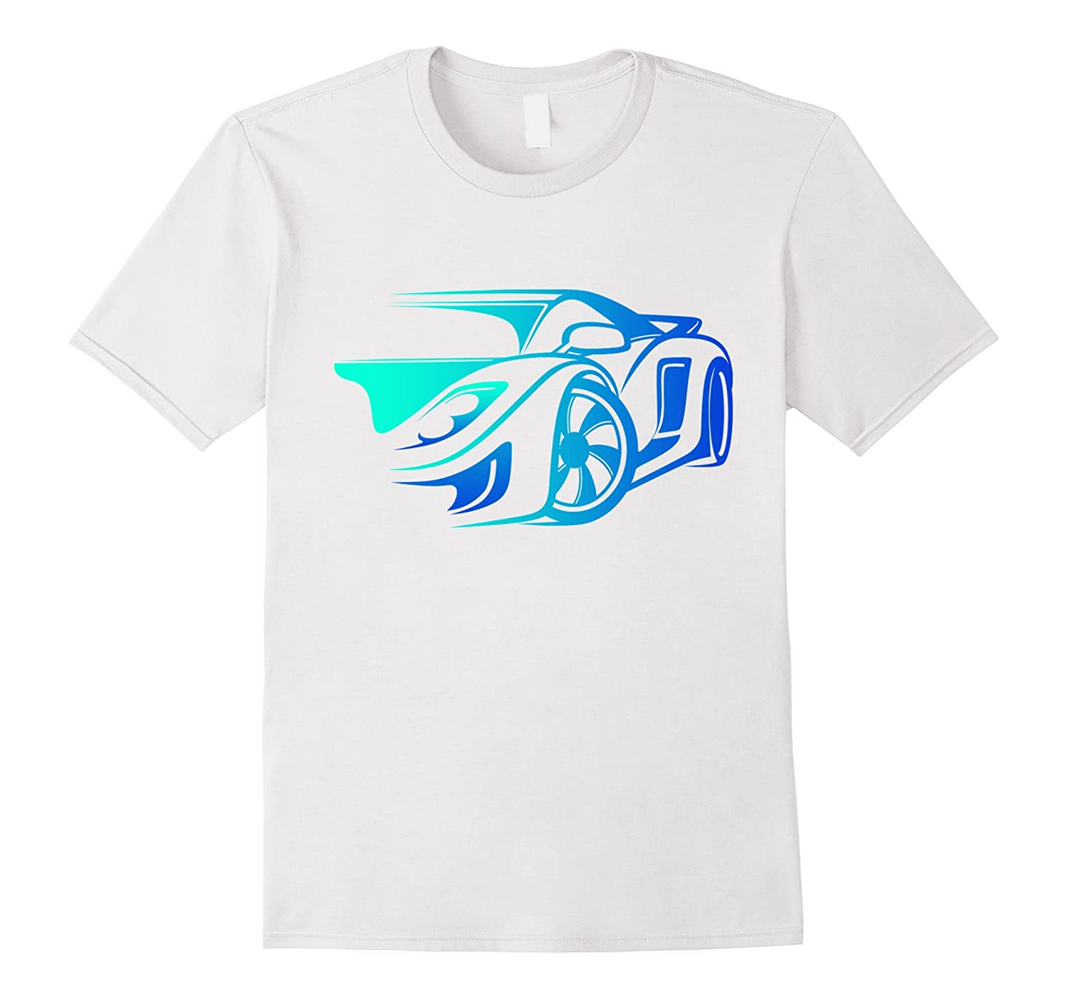 Exotic Car Supercharge Turbo Sports Car T  Shirt-Teehay