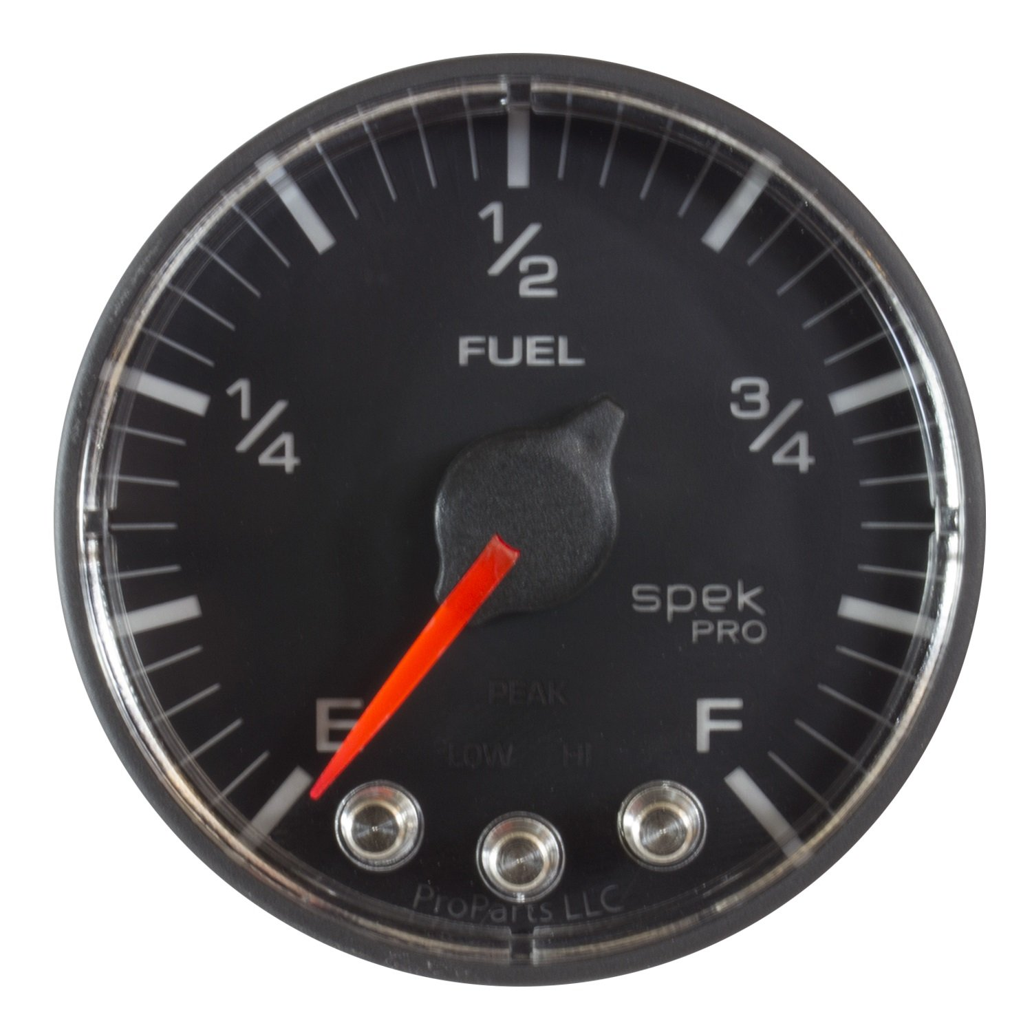 ProParts P312328 Spek-Pro 2-1/16'' Electric Fuel Level Gauge (Empty/Full, 52.4mm) by ProParts