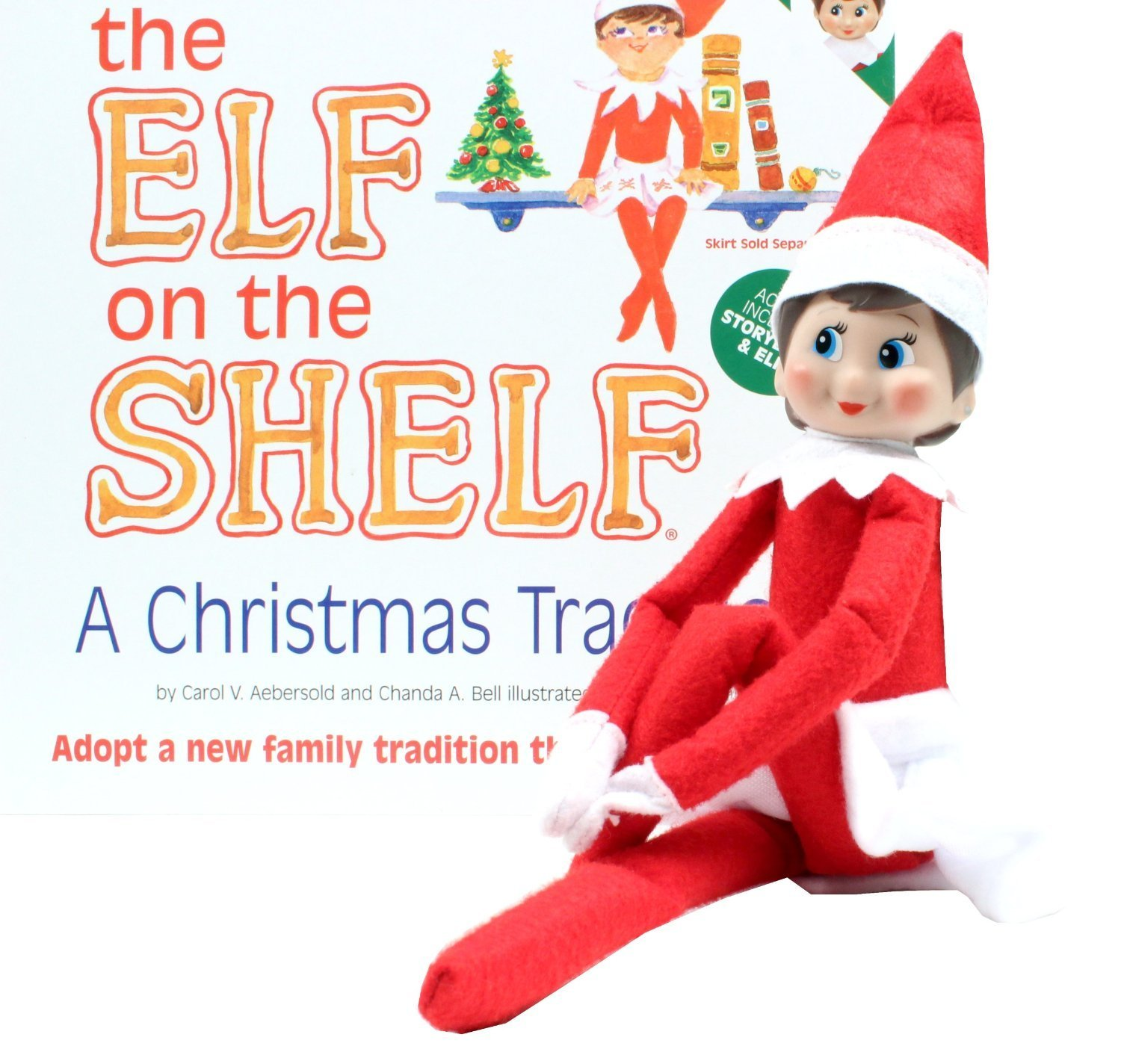 Amazon.com: The Elf on the Shelf Girl Elf Edition with North Pole ...