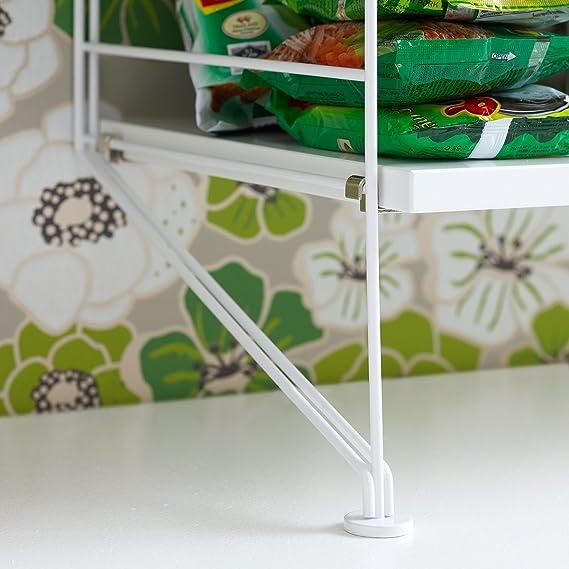 String suelo Escalera 2 unidades) 200 x 30 cm, color negro