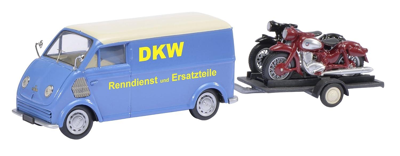 Schuco - 450238800 - Véhicule Moto Modèle Set - DKW Schnelllaster - Echelle 1 43