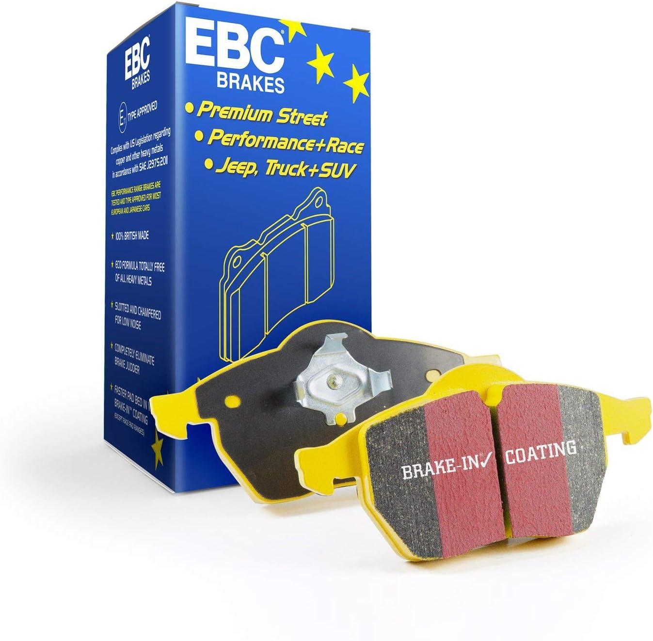 EBC Brakes DP41185R Yellowstuff Seattle Mall Cheap mail order shopping Street and Brake Pad Track