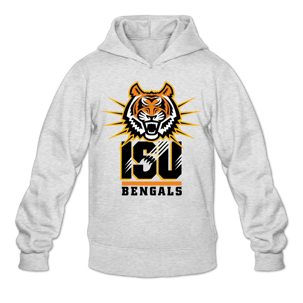 0f6556db HYD Funny Idaho State University Bengal Men's Long Sleeve Hooded ...