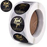 """TMINCK 1"""" Thank You for Supporting My Small Business Stickers, Round Labels for Business, Online Retailers, Boutiques, Shops"""
