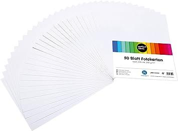perfect ideaz 100 Blatt A4 Tonpapier schwarz 130g Papier zum Basteln Bastelpappe