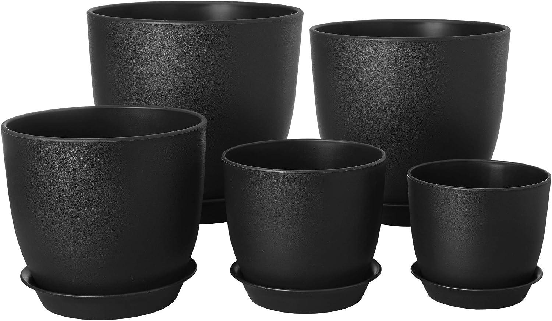 100 x COULEUR 10.5 cm Plant Pots