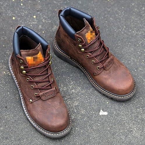 Middle Boots Altas Botas Martin Ledlfie Hombre Para Help 4qXBwS1U