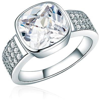 Rafaela Donata Damen Ring Sterling Silber Zirkonia