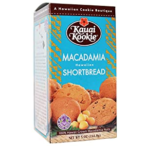 Hawaii Kauai Kookies Macadamia Nut Shortbread Cookies