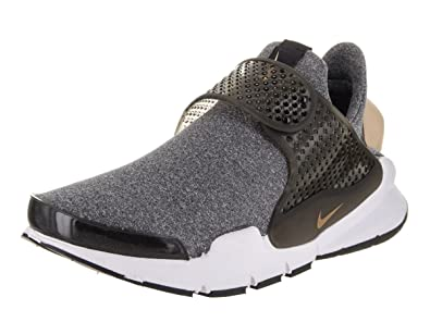 more photos 8b000 24fbc Image Unavailable. Image not available for. Color  Nike Womens Sock Dart SE  Black White Vachetta TAN Heather Running 862412 001