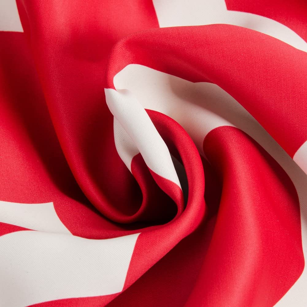 Topfinel Rideau Occultant Motif de Tr/èfle /à Quatre Feuilles /à Oeillets Rideaux Isolation Thermique pour Decoration Chambre Salon Cuisine 140x160cm Gris