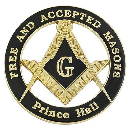 Amazon Com Masonic Prince Hall Free Accepted Masons Black Gold