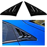 Thenice for 10th Gen Civic Racing Style Rear Side Window Louvers Air Vent Scoop Shades Cover Blinds for Honda Civic…