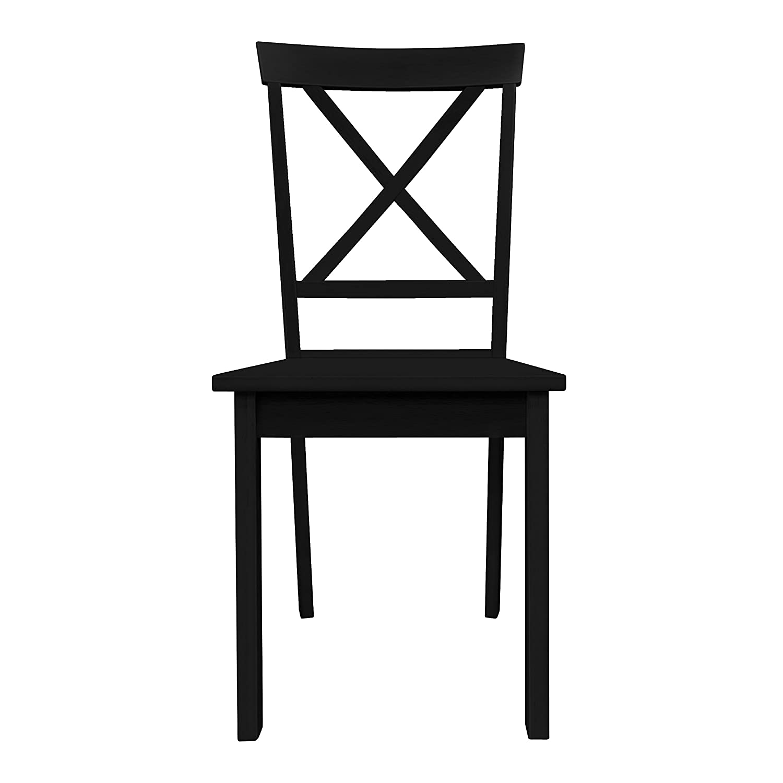 Furniture 247 Esszimmerstuhl - Schwarz
