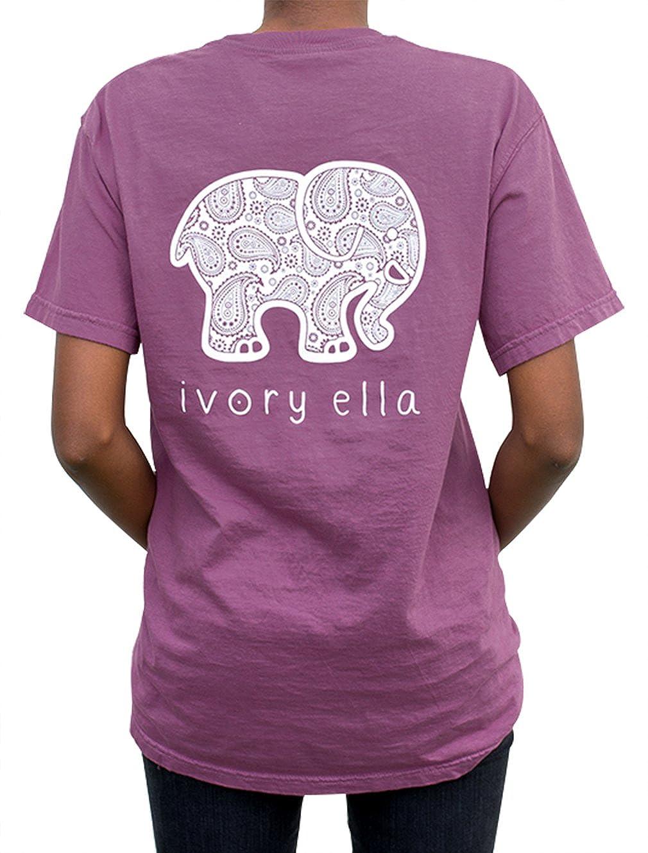 Amazon Elephant Graphic Print T Shirt Women Casual O Neck